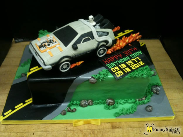 back-to-the-future-cake